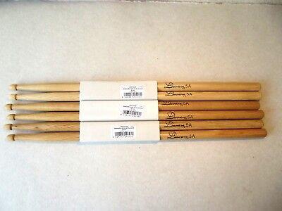 30 Stück 15 Paar Drumsticks DIMAVERY DDS-5A Ahorn Trommelstöcke