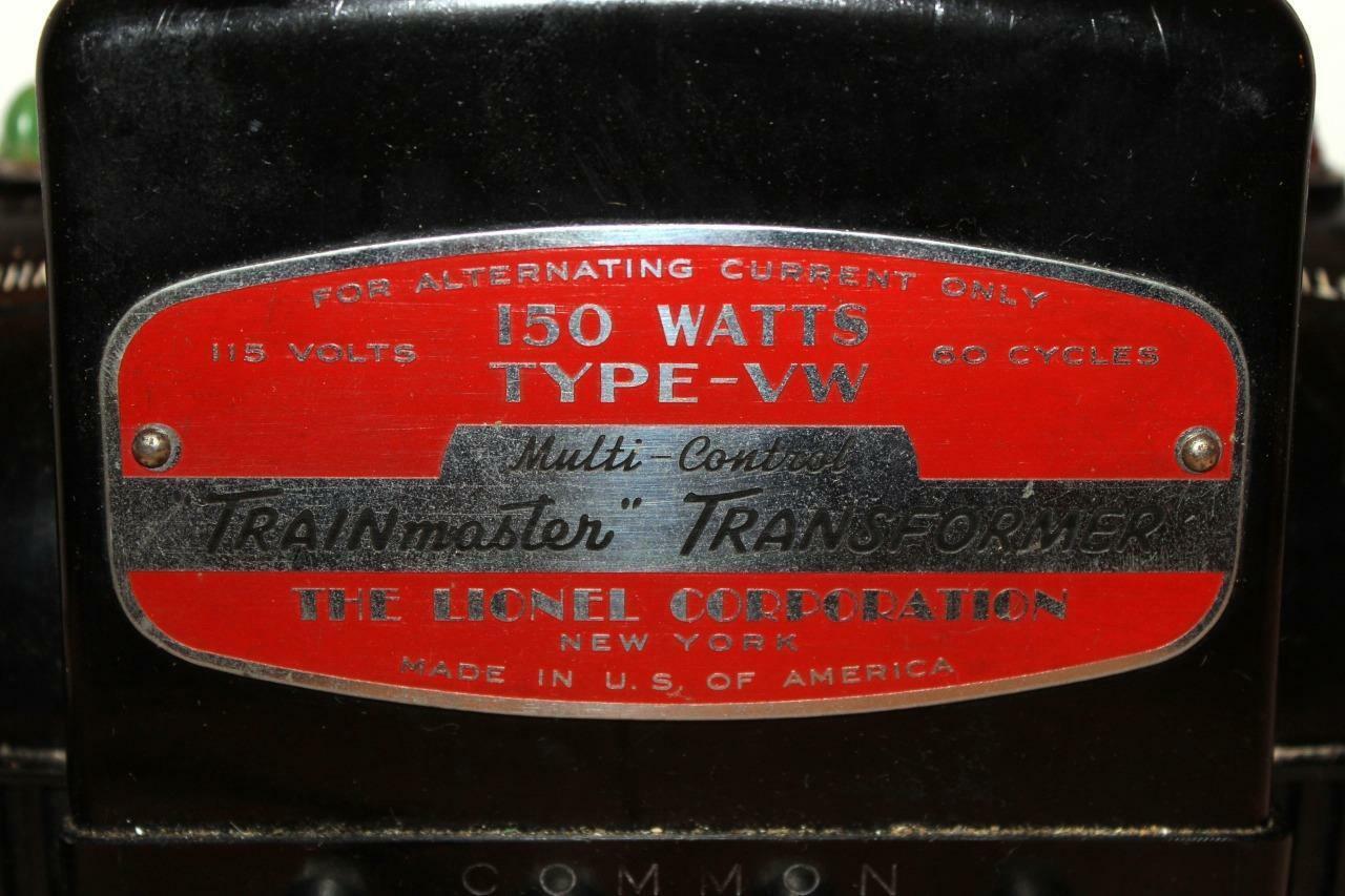 Lionel  VW  150 Watt Transformer Rigida da Trovare  Escluso BR1