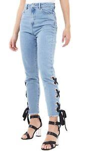 Only Jeans donna stretch SKINNY Denim Basic Donna Pantaloni Pantaloni Casual Nuovo