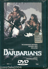 The Barbarians (1987) DVD NUOVO SEALED Eva La Rue Sheeba Alahani Ruggero Deodato