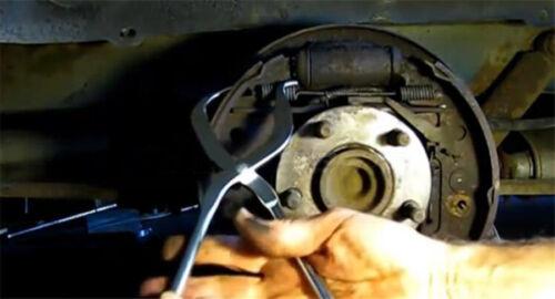 1Pcs Brake Spring Plier Set Spring Plier Remove Install Shoe Return Tool Kit