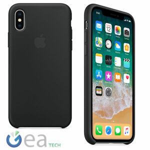 Custodia-in-Silicone-Originale-APPLE-Per-iPhone-X-Back-Cover-Case-Soft-Touch