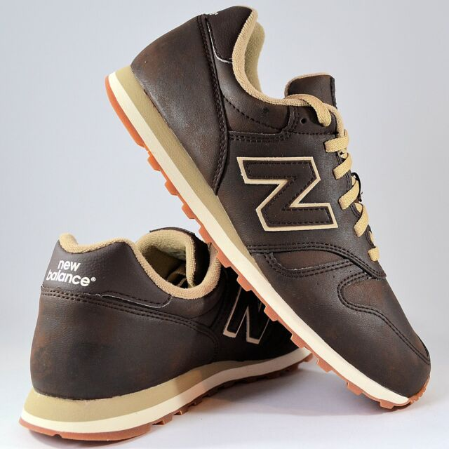 new balance 373 uomo marrone