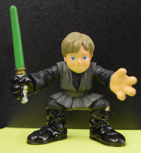 Star-Wars-Galactic-Heroes-Luke-Skywalker-Jabba-039-s-Palace-2004-Loose