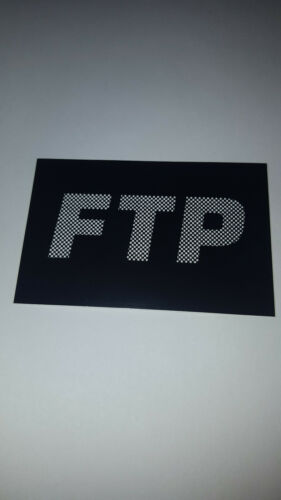 FTP LOGO STICKER DECAL FCKING AWESOME F*CKING F CKING FUCT FUCKTHEPOPULATION