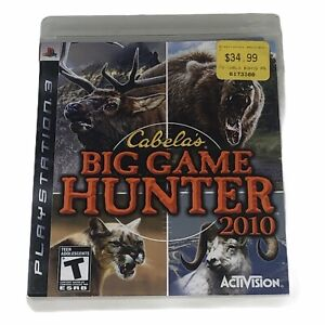 Cabela-039-s-Big-Game-Hunter-2010-Sony-PlayStation-3-2009-Complete-w-Manual