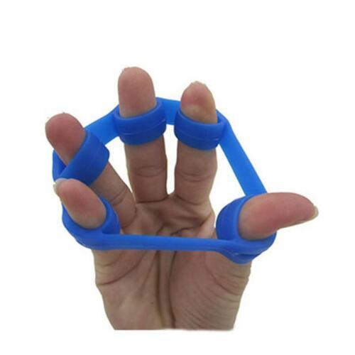 Daumen Fingertrainer Hand Trainer Silikon Reise Hand Expander blau Heimtrainer