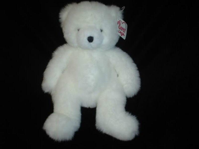 Ganz Bear 1997 Tubby H2368 All Tags 13 Inch Retirosso