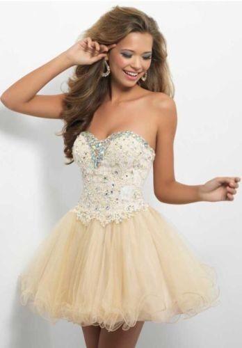 Beaded Short/Mini Cocktail Dresses Party Bridesmaid Ball EveningProm Dresses