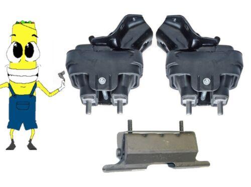 Anchor Motor /& Transmission Mount Kit Silverado 2500 3500 6.0L 2007-2009 HD 4x4
