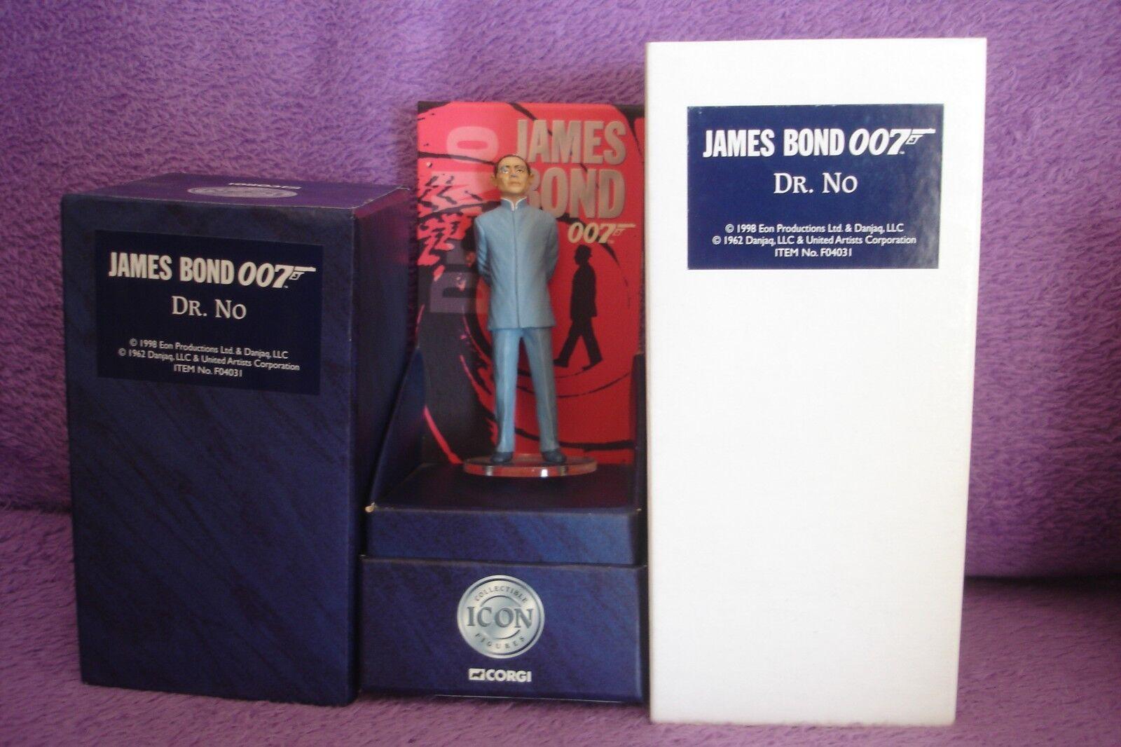 CORGI icona James Bond 007 1st Edizione in Scatola Figura DR NO   F04031 c1998
