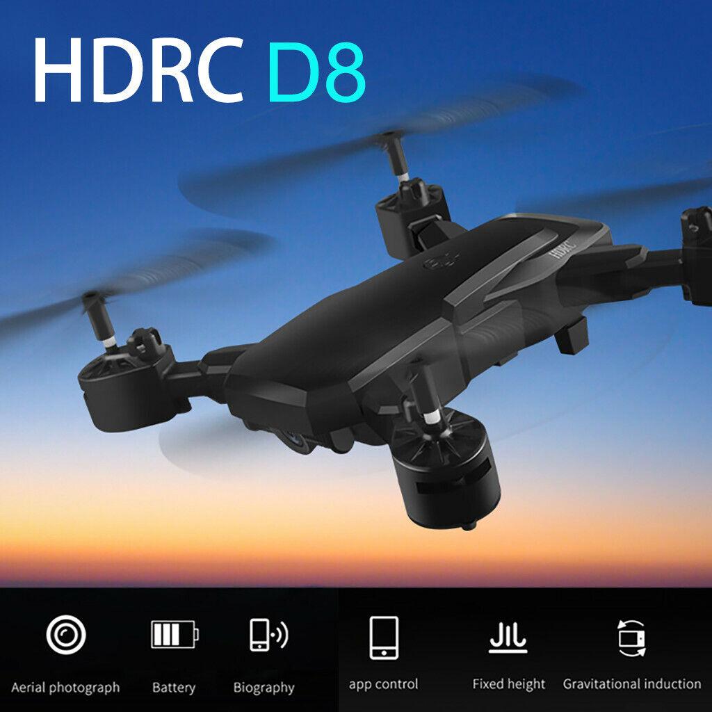HDRC d8  Pieghevole Drone WIFI FOTOtelecamera 1080p Quadcopter 20 minuti tempo di volo 1800mah