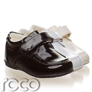 edd7fc8b71d Image is loading Toddler-Black-Shoes-Boys-Black-Wedding-Shoes-Page-