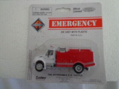 Diecast Brush Land Management Fire Truck HO 1:87 by Boley