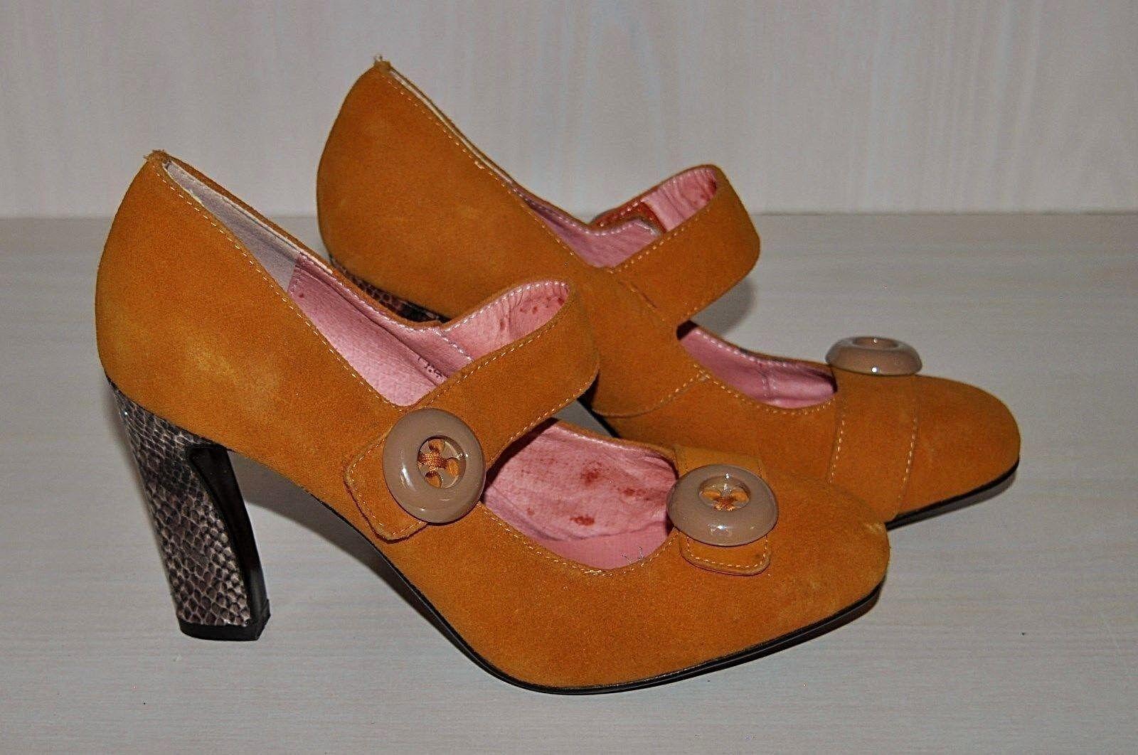 Gentlemen/Ladies MARBLEINK We Suede Mary Jane Heels We MARBLEINK have won praise from our customers. Online export store Modern mode 09f252