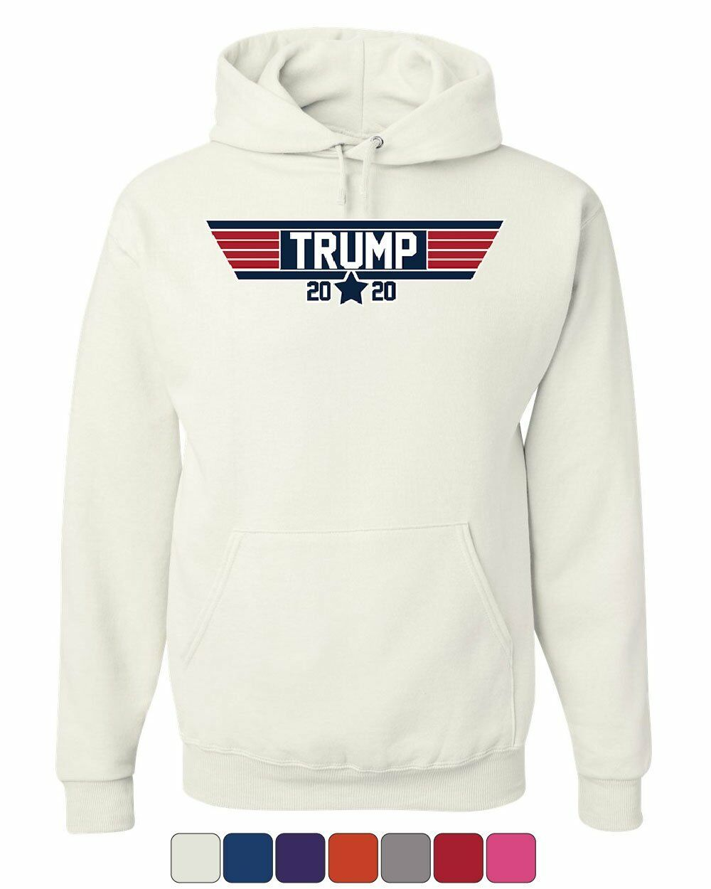 Donald Trump 2020 Hoodie Political Two Terms MAGA US President Sweatshirt