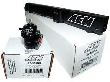 AEM High Volume Fuel Rail + Adj Pressure Regulator for Honda H22A1 H22A4 H23A1
