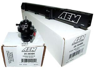 AEM-High-Volume-Fuel-Rail-Adj-Pressure-Regulator-for-Honda-H22A1-H22A4-H23A1