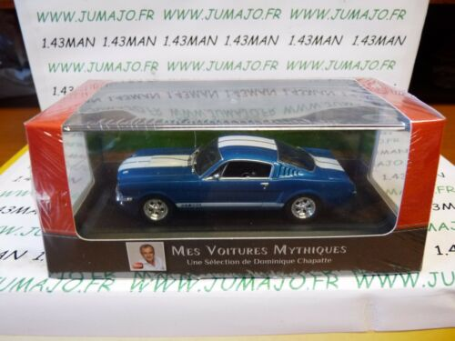 CH9T Autos Mythische Atlas Ixo Chapatte Ford Mustang Shelby 350 Gt 1966