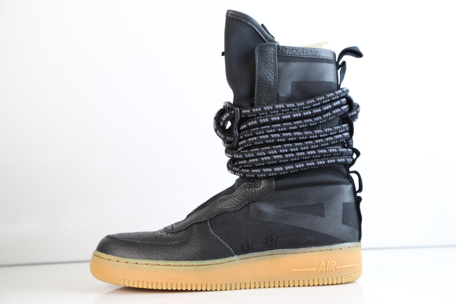 Nike 9 SF AF1 Hi Negro Goma AA1128001 812 9 Nike 10.5 Air Force 1 9c9aa9