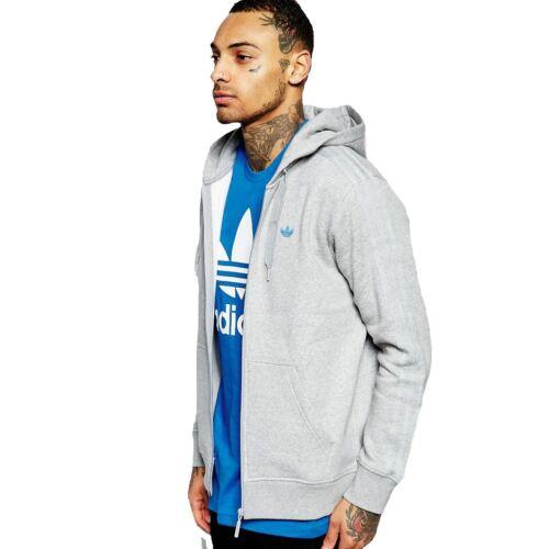 Hoodie aj7698 Originals Adidas Grijs Heren Classic Trefoil WRz1ac4qv