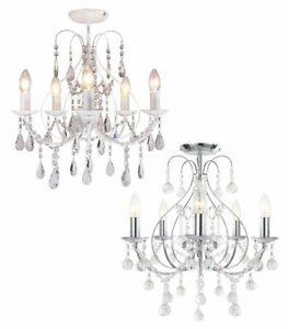 BHS 4 6 Lights Chandeliers for sale | eBay