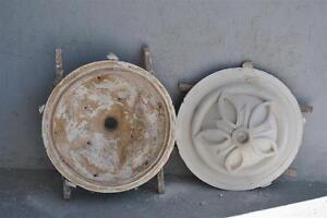 Moule-ancien-d-039-atelier-de-platrier-staffeur-rosace-ronde-style-oriental