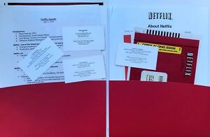 Netflix-2004-complete-press-kit-including-Reed-Hastings-business-card-Rarity