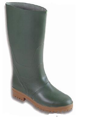 paia STIVALI ginocchio verde PVC TG 40 ginocchio STIVALI anti pioggia made in italy stivale 84de31