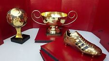 1986 FIFA Mexico Football World Cup- Ballon d'or france football - Museum trophy