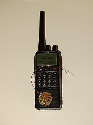 Ultra miniaturized spy microphone transmitter  for Icom IC-R20 scanner