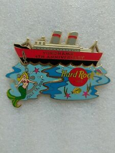 Hard-Rock-Cafe-Yokohama-4th-Anniversary-Mermaid-3-piece-puzzle-pins