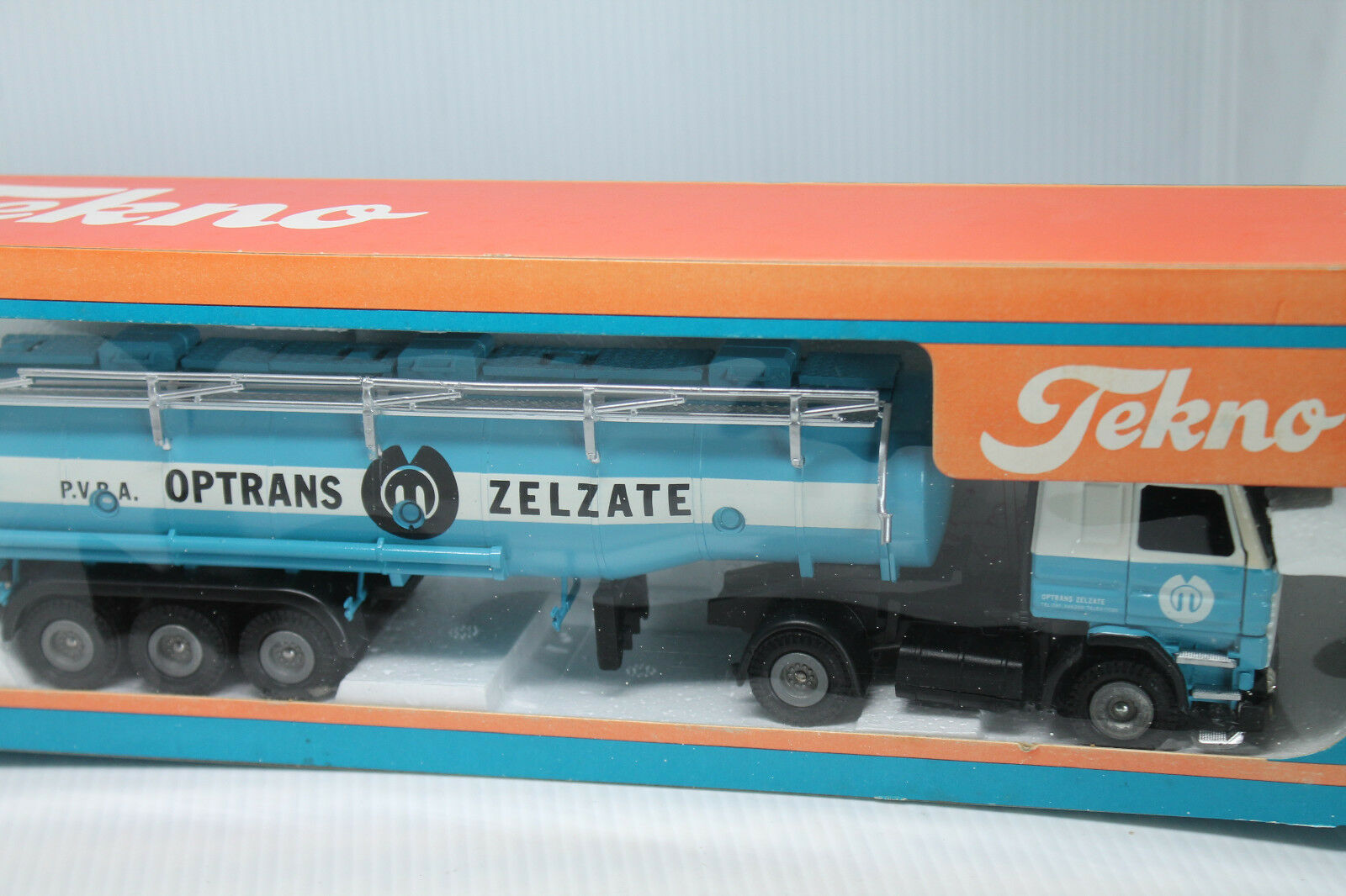 Tekno * SCANIA 142 articulated petroliere * optrans ZELZATE * OVP * 1:50