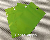 3x5 50pc Green Ziplock Mylar Bags-products Storage Food Packaging Crafts Spice
