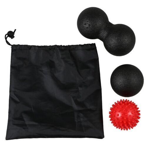 1 Spiky-Ball Fuer D8A2 Massage-Ball-Set 1 Lacrosse-Ball 1 Paar-Lacrosse-Ball