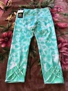 fb22db33fbada7 Girls' Lattice Capri Leggings - C9 Champion® Mint - Size XL- 14/16 ...