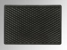 Gummimatte Automatte Fussmatte Automatten Randwaben 47x41 cm Hinten schwarz