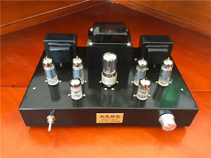Finished-6N2-6P1-5Z4PA-Vacuum-Tube-Amplifier-Stereo-Class-A-push-pull-Amp-New