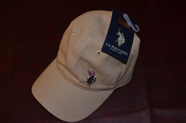 Asstd National BRAND U.s. Polo Assn. Washed Twill Adjustable Ball Cap One  Size Khaki 48d0c1ac7116
