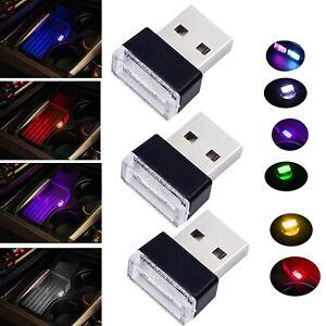 Mini-Flexible-USB-LED-Car-Interior-Light-Strip-Neon-Atmosphere-Tube-Neon-Lamp-RD