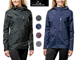 New Womens Paradox Lightweight Rain Coat Jacket Waterproof