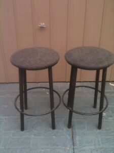 Image Is Loading 2 Used Bar Stools Available 40 00 For