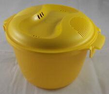 Tupperware I 56 ReisMeister 2,2 l Reiskocher für Mikrowelle Gelb / Rot Neu OVP