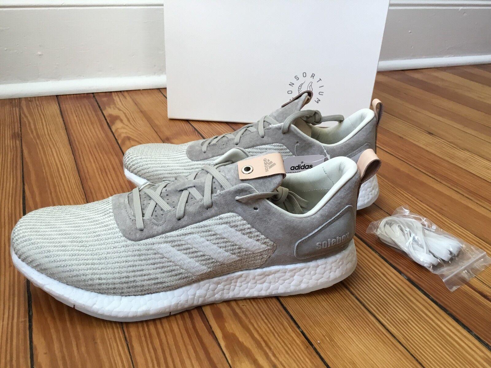 sports shoes 4d11c c4cc7 Adidas pureboost dpr n. solebox puro puro puro slancio scarpe da uomo.  b27992 46