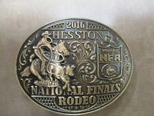 2016 Hesston Bronze Plated Collectible Adult Belt Buckle NIB