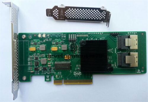 1PCS New LSI Controller Card 9211-8i SAS SATA 8-port PCI-E 6Gb RAID