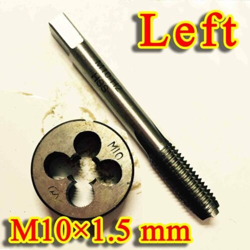 HSS M10 X  1.5 mm Left-hand thread Plug Tap Die Threading Tool for Machine