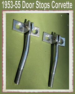 Corvette-Parts-1953-1954-1955-Door-Opening-Check-Strap-Stop-One-pair