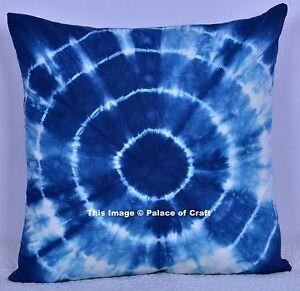 dcdc065d0f93e Details about Indian Cotton Mandala Tie & Dye Cushion Cover Ethnic Pillow  Case Home Decor Art