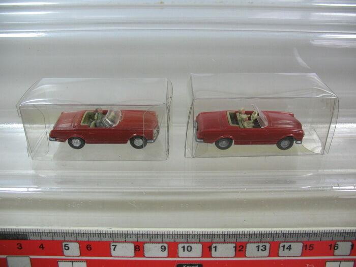 L77-0,5x Wiking H0, 142,14 b, Mercedes-Benz MB, 230 SL, TOP